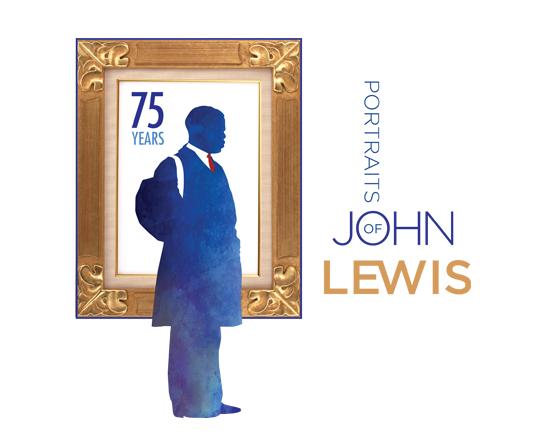 Portraits of John Lewis