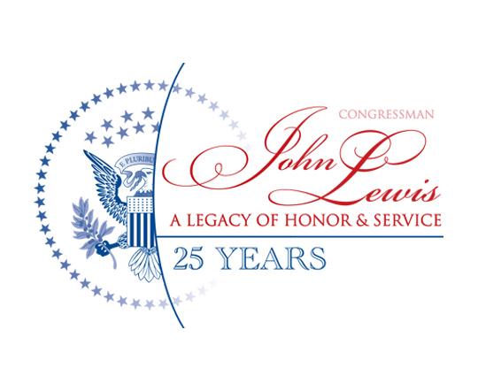 Congressman John Lewis logo design